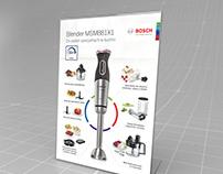 Bosch - A4 promo poster MaxoMixx 2016