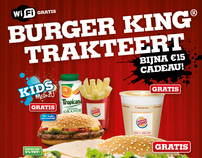 Burger King flyer