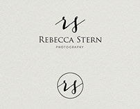 Rebecca Stern photography logo design