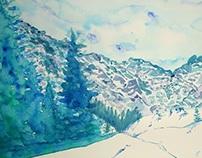 Road to Morskie Oko