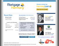 HarmonyLoan One Click Refinance