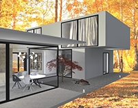Minimalist house.