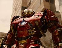 Avengers: Age of Ultron / Website design