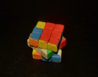 Stop Motion Type Rubik's Cube