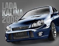 Lada Kalina  CG/3D Modelling/Render