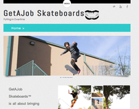 GetAJob Skateboards.com | Site Design & Implementation
