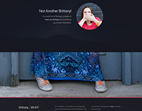 Personal Portfolio / HTML5 and CSS3