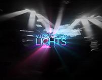 VJ Distorted Lights (4K Set 1)
