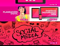 Website Digitalink Agencia de Marketing Digital