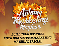 Autumn Marketing Mayhem Promo Campaign for HPP