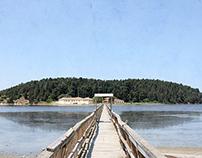 Zvërnec island (Monastery).