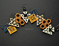 open work earrings