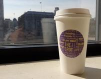"""""""The Spot"""" - Cafe brand"""