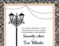 Elegant Charleston Wedding Invitations