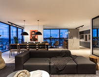VA apartament by Michel Macedo Arquitetos