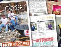 The Odyssey Greek Newspaper Spreads