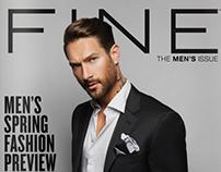 Men's Issue FINE Magazine