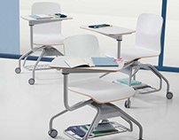 Pad Chair, school chair for new educational spaces