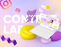 Landing Page «Content Lab»