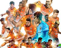 Chiang Rai United FC Thailand FA Cup Champion 2017