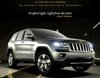 2011 Jeep Grand Cherokee Microsite