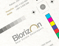 Blorizon - Corporate identity