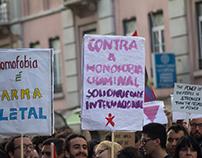 Manif contra campos de concentração para gays part II