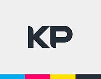 KP Soluções Gráficas - Logotipo e Identidade Visual