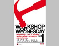 Poster design, Workshop Wednesdays