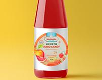 Design for bottle of ice tea