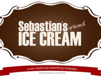 Sebastian's Artisanal Ice Cream (Mock ad campaign)