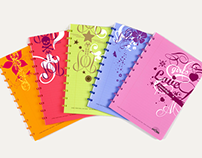 atoma • boys and girls notebooks
