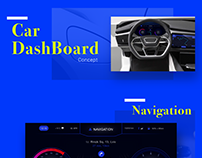 Car Dashboard concept