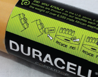 Duracell Batteryturn Program Branding