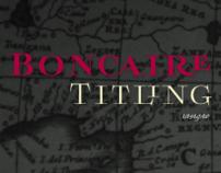 Boncaire Titling