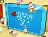 La forma de la Navidad [Arequipe Alpina]
