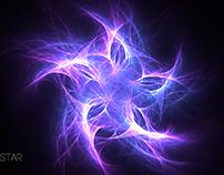 Fractal Star Wallpaper