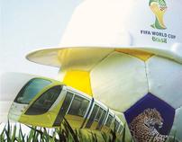Cuiabá se prepara para a Copa 2012.