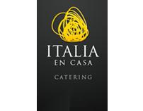 Italia en Casa - Catering - Website