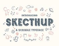 Sketchup – Adorable Scribble Typeface