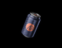 Floating Can Mockup