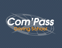 Com'Pass Driving School / Business Stationary