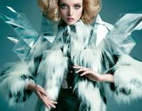 Anastazja Niementowska for Blanche Magazine