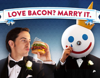 Jack In The Box - Marry Bacon Super Bowl Campaign