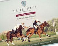 La Irenita Polo Club - Promotional Flyer