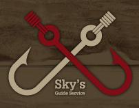 Sky's Guide Service - ReBrand, Web Design