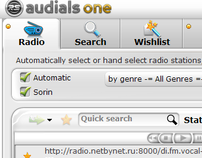 Audials One GUI set