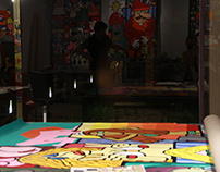 Jardin Rouge - Art Residence - 2014