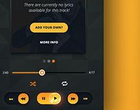 Concept Music App - UI/Ux Design