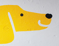 dogs on the walls